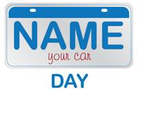 Name Your Car Day Always.
