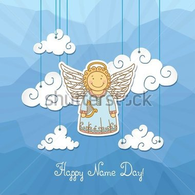 Name day clipart.