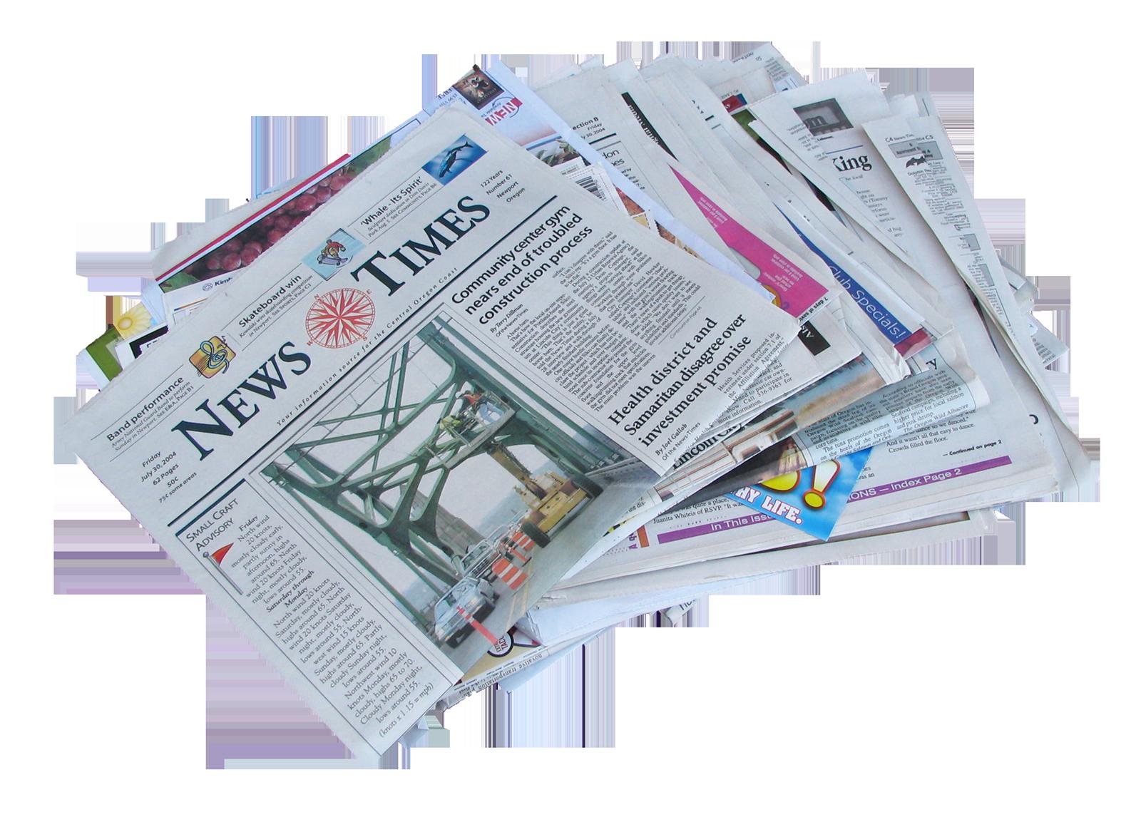 Newspaper Local news News media.
