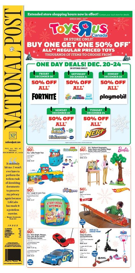 Download National Post (Latest Edition) ( Friday, December.