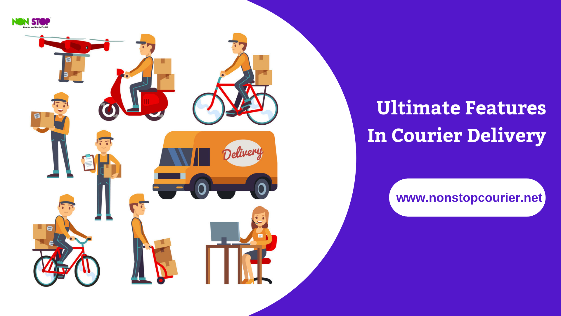 Nonstop courier is the south Asia\'s best courier services.