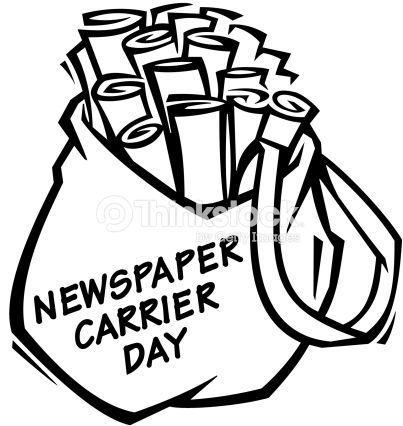 TODAY IS NATIONAL NEWSPAPER CARRIER DAY, AND I WANT TO SAY.