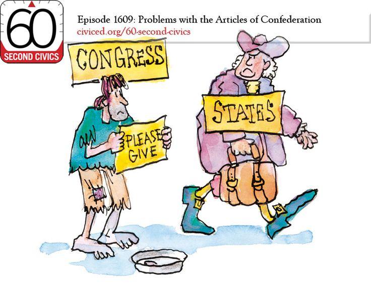Articles Of Confederation: Problems.