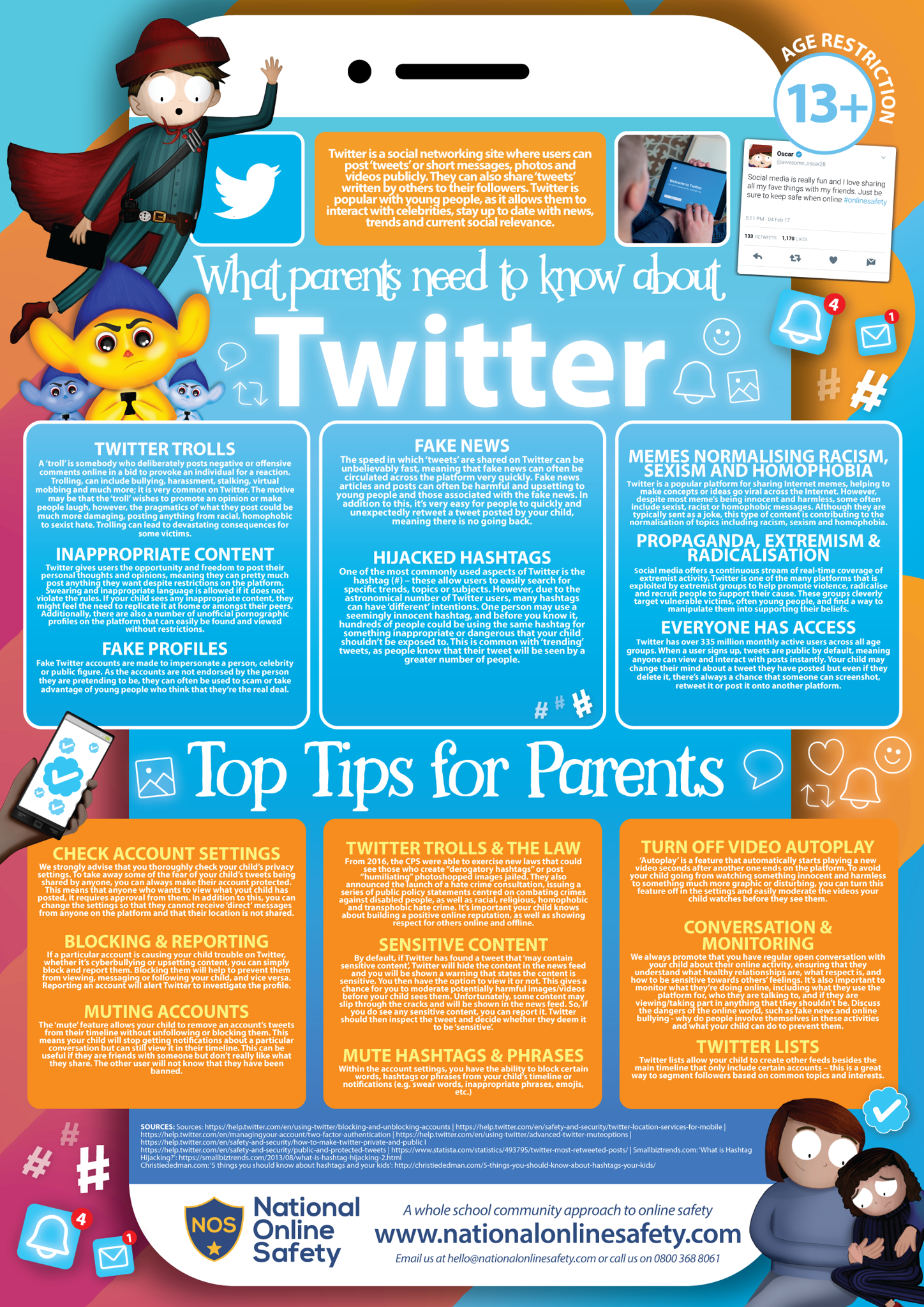 National Online Safety Guidance for Parents.