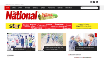 Everything on thenational.com.pg. PNG\'s Number One Daily.
