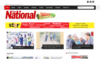 Thenational.com.pg ▷ Observe The National News.