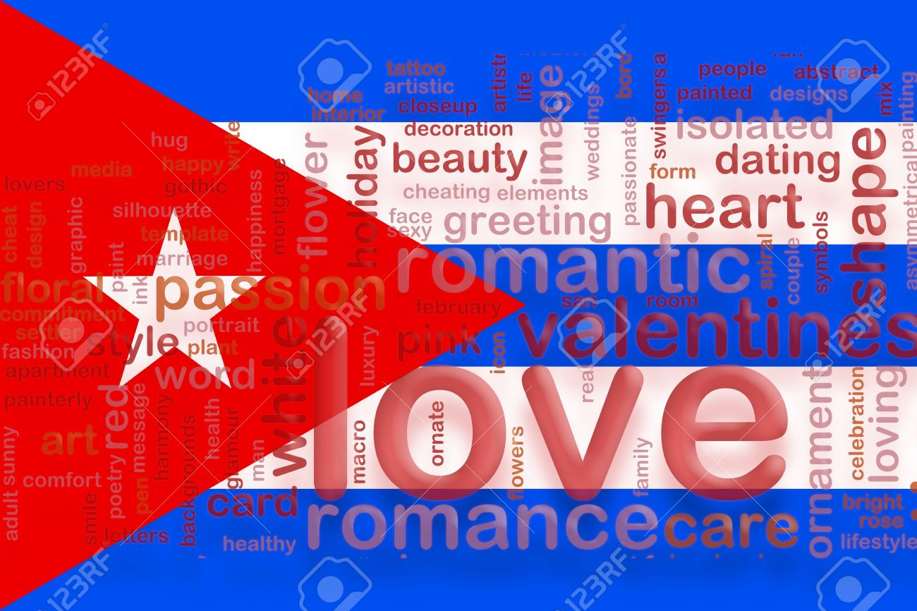 Flag Of Cuba, National Symbol Illustration Clipart Love Romance.