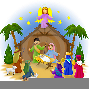 Nativity Scene Clipart Stay.