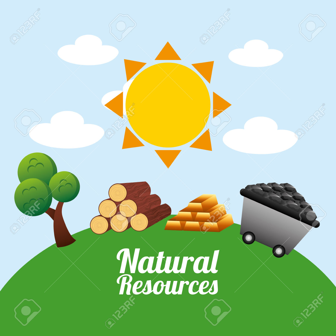 Natural Resources Design Royalty Free Cliparts, Vectors, And Stock.