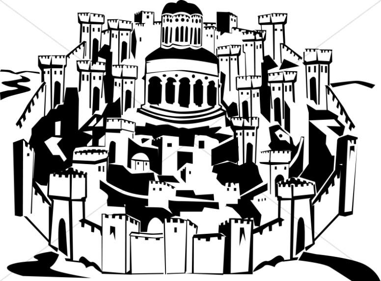 The Holy City of Jerusalem.