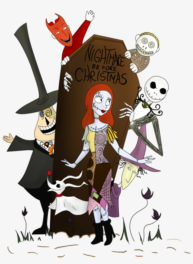Graphic Nightmare Before Christmas By Clwnprincessofcrime.
