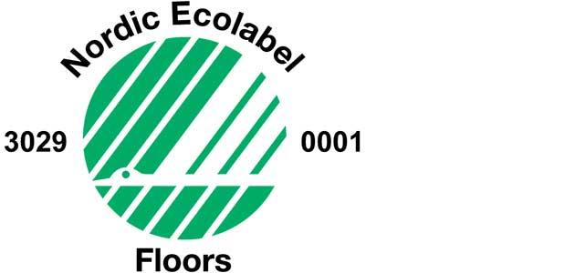 Environmental labels for Pergo commercial Laminate.