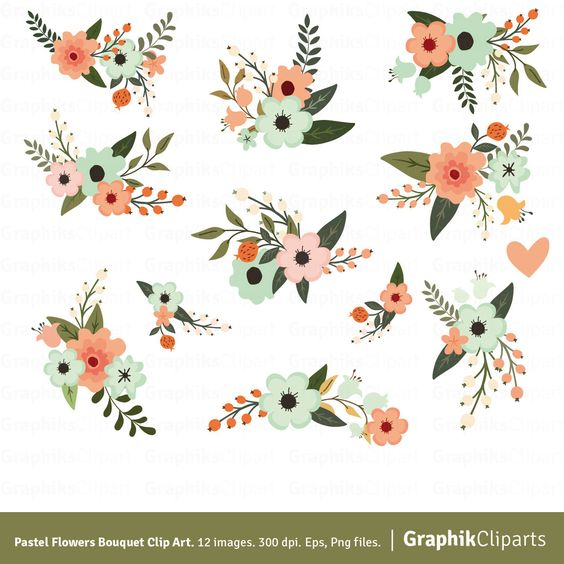 The north beach flower clipart #3