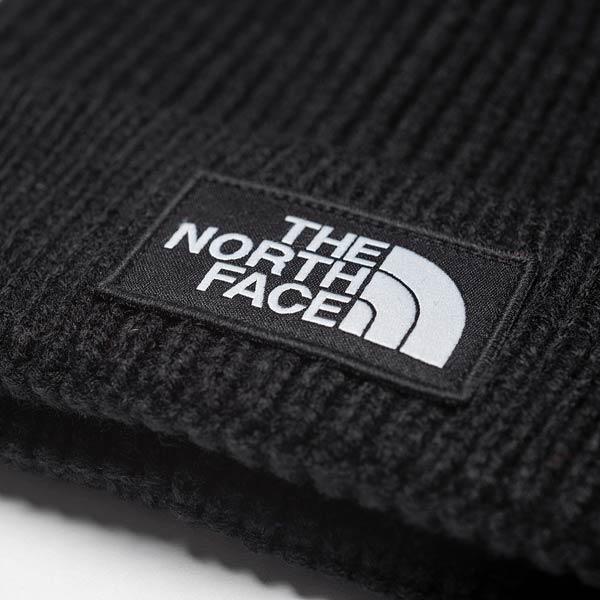 the north face Logo Box Cuffed Beanie TNFBLACK bei KICKZ.com.