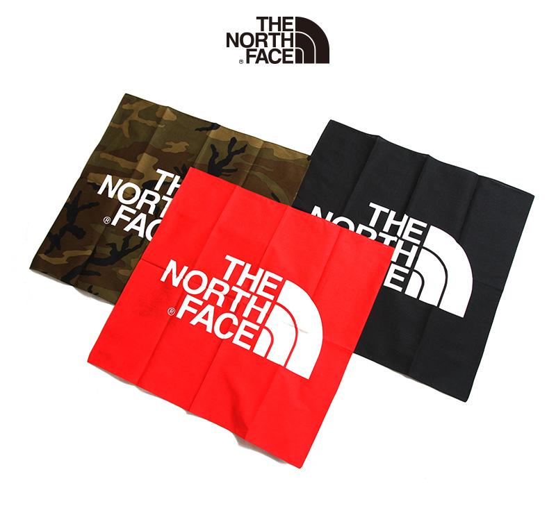 THE NORTH FACE ザノースフェイス TNF logo bandana NN21901.
