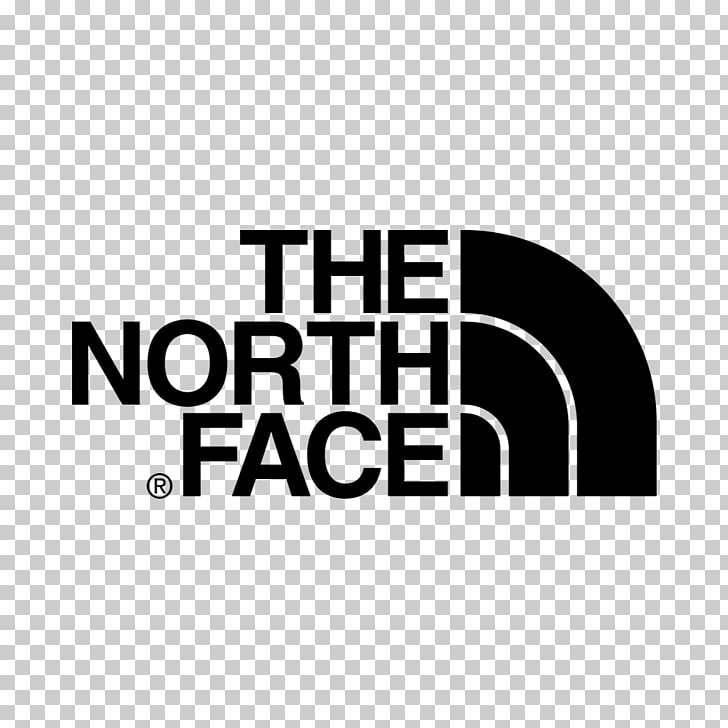 Logo Brand The North Face , design PNG clipart.
