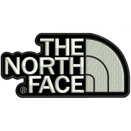THE NORTH FACE Embroidered Patch.