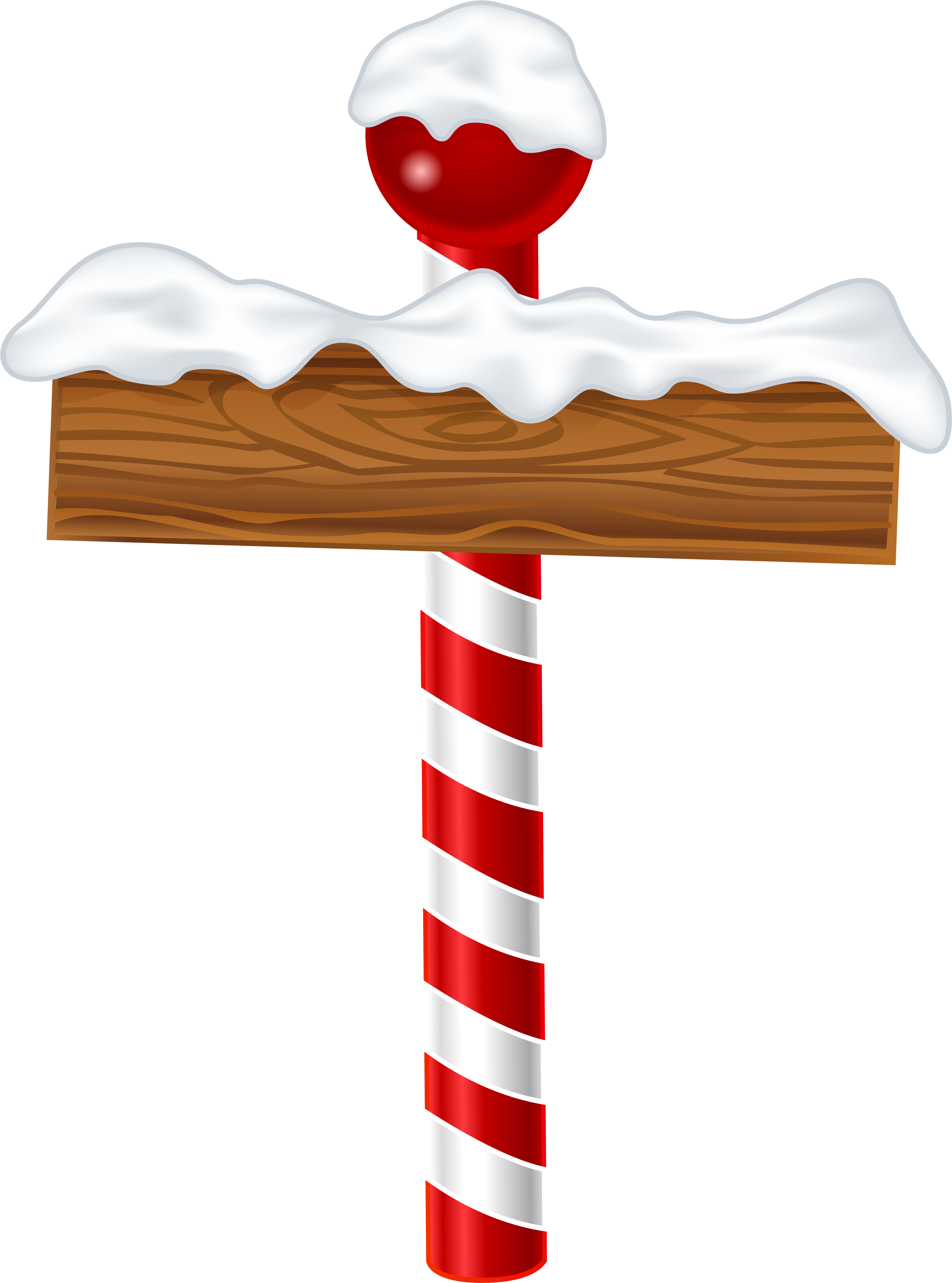North Pole Sign Clipart.