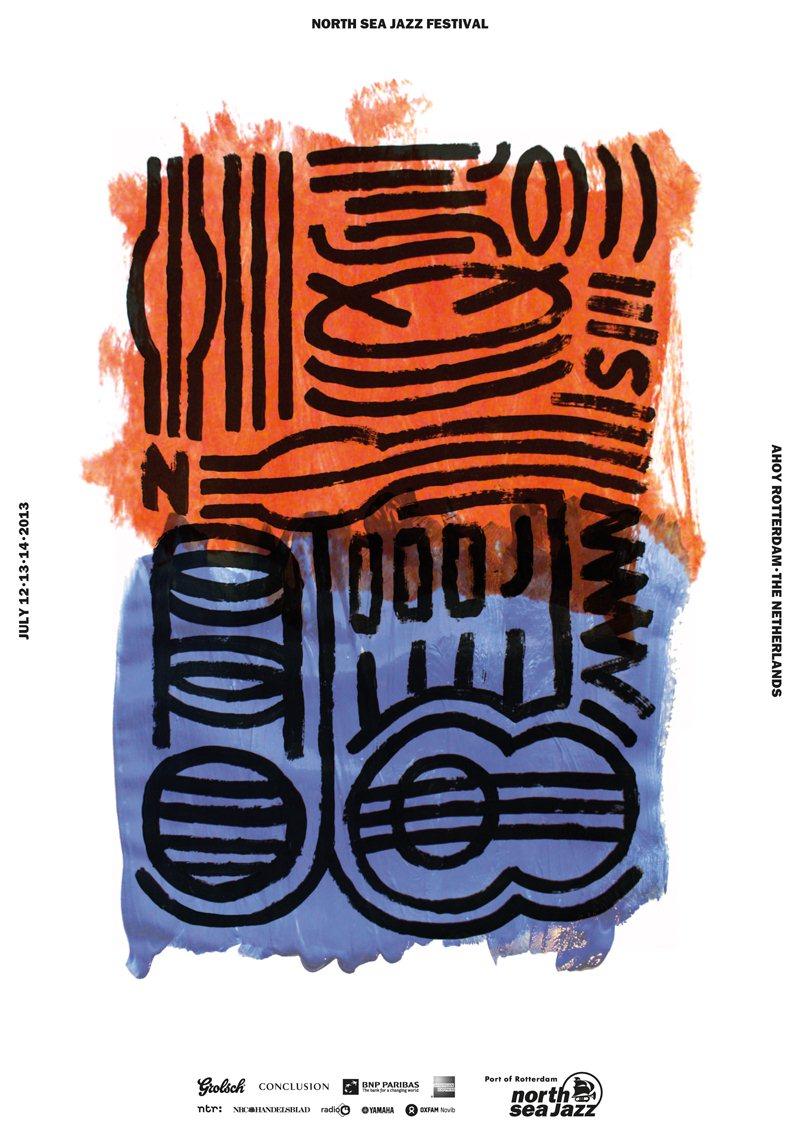 North Sea Jazz Art Poster.