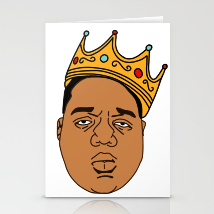 The Notorious BIG Stationery Cards by sprkler.