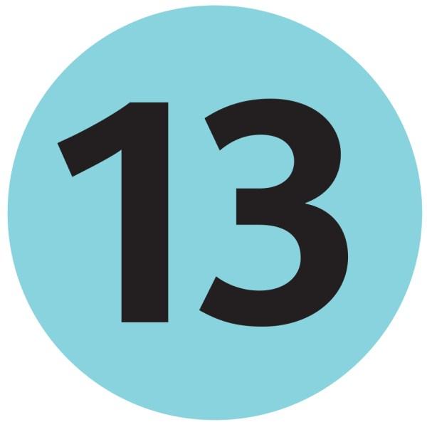 Number 13.
