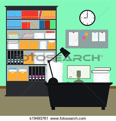 Office desk Clip Art EPS Images. 18,697 office desk clipart vector.