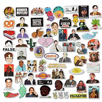 The Office Stickers.