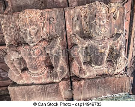 Pictures of Old temple Chamunda Mata.