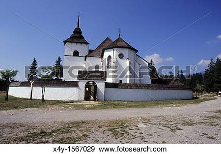 Stock Photograph of The open air museum of architecture of.