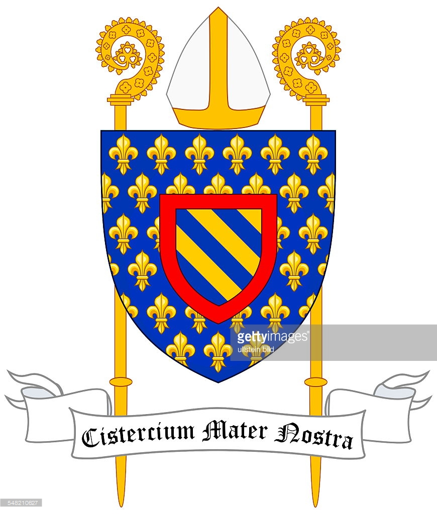 emblem of the Cistercian order.