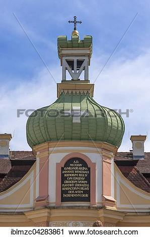 Stock Photography of Tower of the Cistercian Abbey, Stift St.