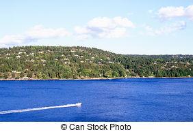 Stock Photo of Oslofjord.