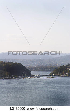 Stock Photography of Oslo Fjord k0130900.