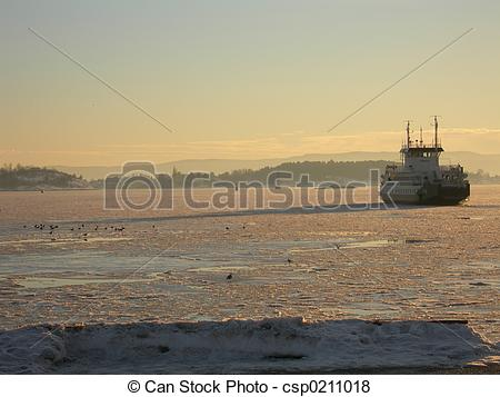 Pictures of Oslofjord.