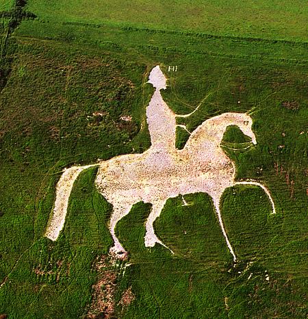 Osmington White Horse.