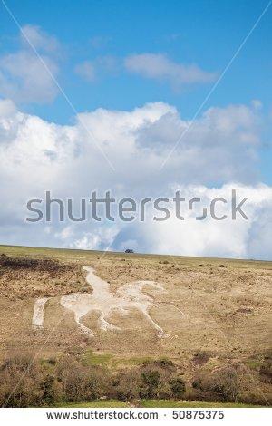 White Horse Hill Stock Photos, Royalty.