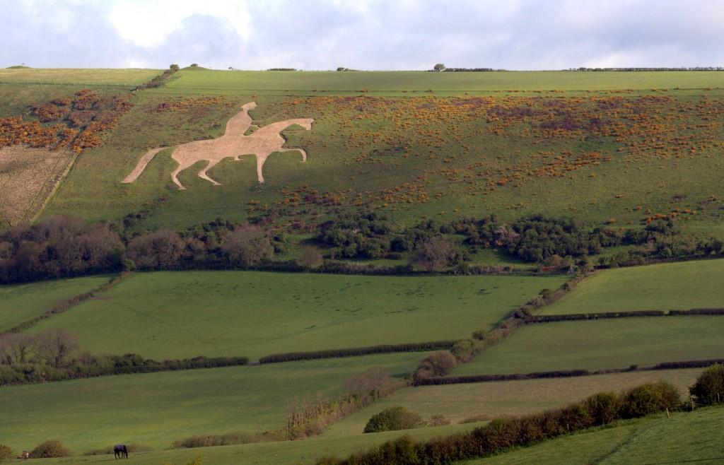 The Osmington White Horse.