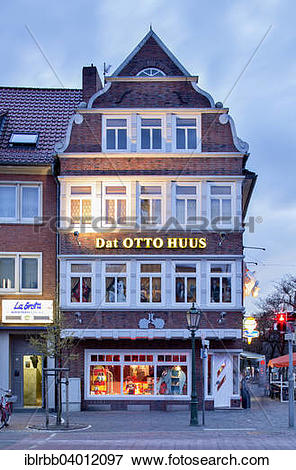 "Picture of ""Historic gabled house, today Dat Otto Huus of the."