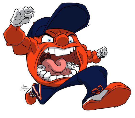 Syracuse Basketball Mascot.