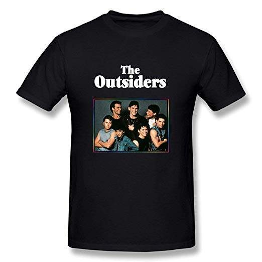 Davidsly Fashion Men\'s&Youth The Outsiders Logo Classic T.