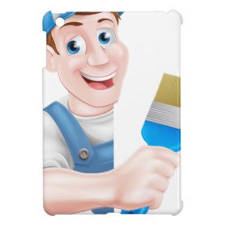 Painter Cartoon iPad Mini Cases & Covers.