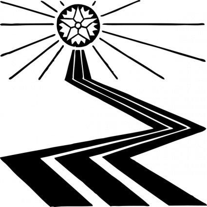 Path Clip Art, Vector Path.