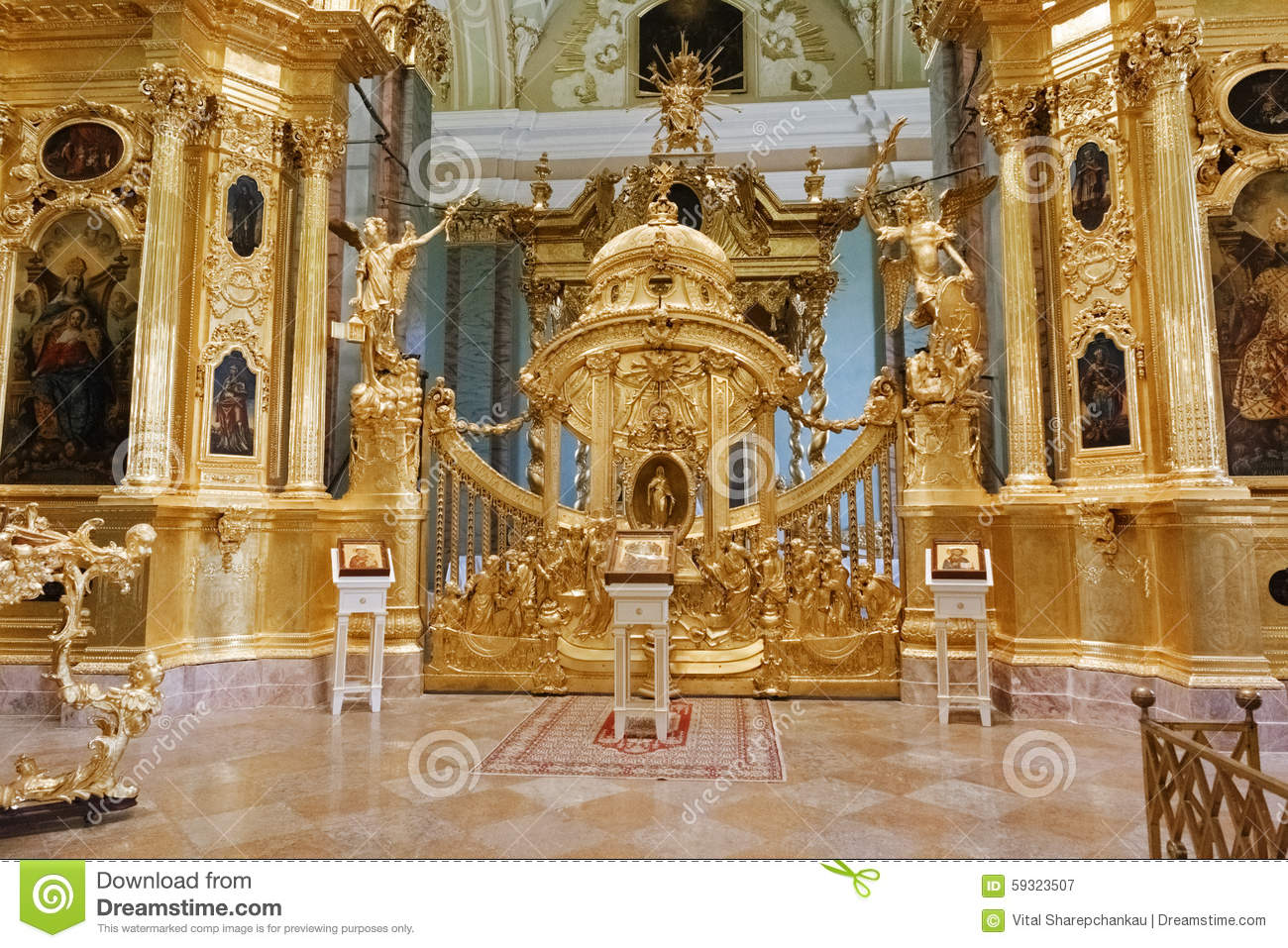 View Inside Of Peter And Paul Fortress. Editorial Photography.