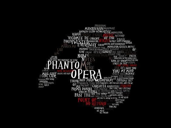 phantom of the opera clip art.