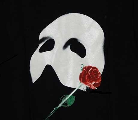 Phantom of the opera mask clipart.