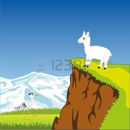 385 Picturesque Alpine Stock Vector Illustration And Royalty Free.