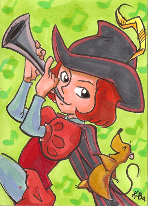 Pied Piper of Hamelin Art Card by kevinbolk on DeviantArt.