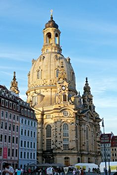 Dresden at night.