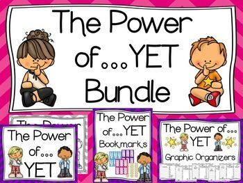 The Power of YET (Growth Mindset) Posters.