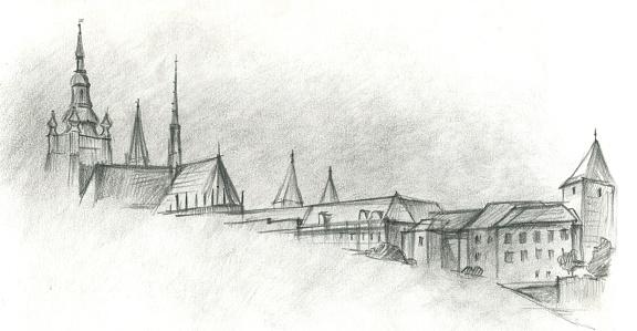 Prague Castle Clip Art, Vector Images & Illustrations.